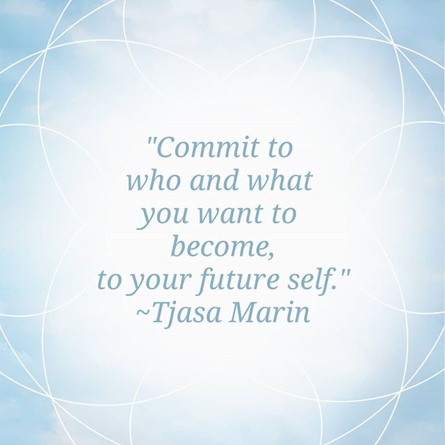 Commit to yourself